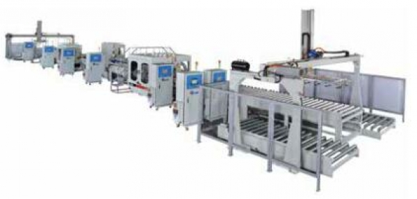 E-Chain Machinery: Double End Tenoners